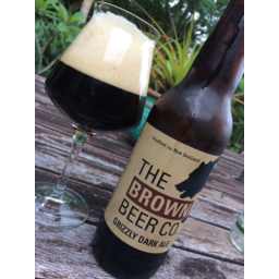 Photo of Brown Beer Grizzly Dark Ale 500ml