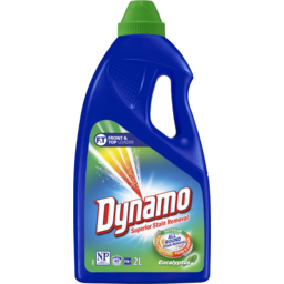 Photo of Dynamo All-Round Stain Removal, Eucalyptus Scent, Liquid Laundry Detergent, 2l