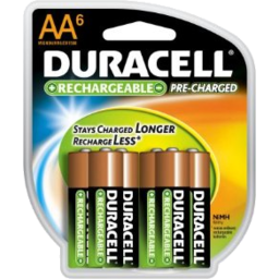 Photo of Duracell Batteries Aa Rchg