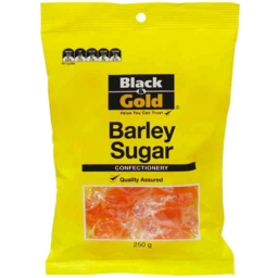 Photo of Black & Gold Barley Sugar 250gm
