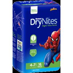 Photo of Dry Nites Boys Bulk 16 Size 4 4-7 Years