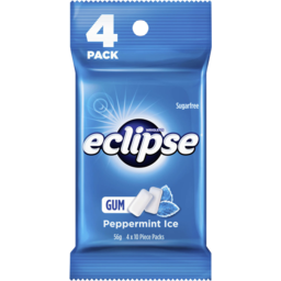Photo of Eclipse Ice Peppermint 4pk 56g