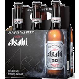 Photo of Asahi Beer Super Dry 330ml 6 Pack