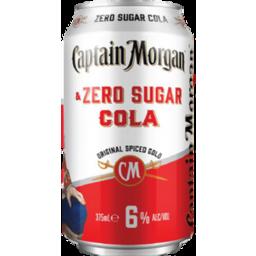 Photo of Captain Morgan & Zero Can