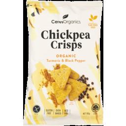 Photo of Ceres Organics Chickpea Crisps Turmeric & Black Pepper