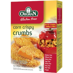 Photo of Orgran Crumbs Corn Crisps 300g