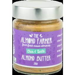 Photo of The Almond Farmer Almond Butter Chai Date 250g