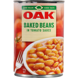 Photo of Oak Baked Beans In Tomato Sauce 420g