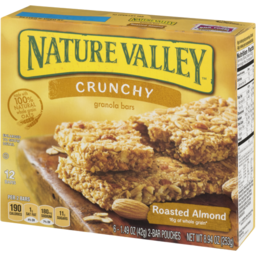 Photo of Nature Valley Granola Bars Crunchy Roasted Almond - 12 Ct