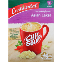 Photo of Continental Cup A Soup Asian Laksa 2pk 65gm