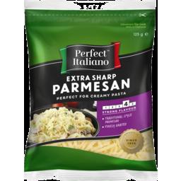 Photo of Perfect Italiano Extra Sharp Parmesan Shredded 125gm