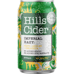 Photo of The Hills Cider Co Imperial Hazy Hops + Apples Can
