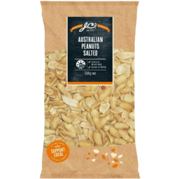 Photo of JC's Peanuts Salted Aust 500gm