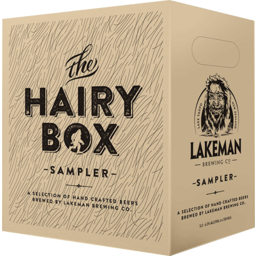 Photo of Lakeman Hairy Box 6 Pack