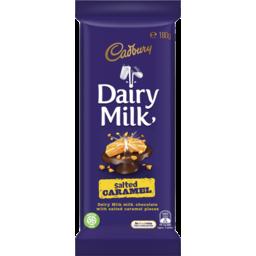 Photo of Cadbury Dairy Milk Salted Caramel 180g