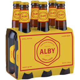 Photo of Gage Roads Alby Crisp Lager Stubbies