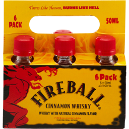 Photo of Fireball Firedrops - 50ml 6pk