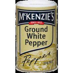 Photo of Mckenzies Ground White Pepper 50gm