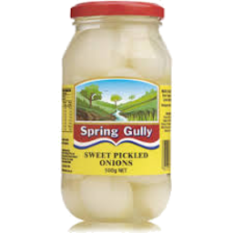 Photo of Spring Gully Sweet Pickled Onions 500gm