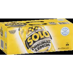 Photo of Solo Thirst Crusher Original Lemon 10x375ml