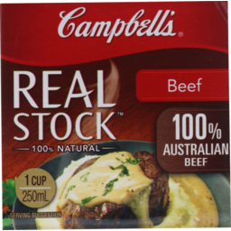 Photo of Campbell's Real Stock Beef Stock 250ml