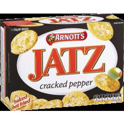 Photo of Arnott's Jatz Crackers Cracked Pepper 225g