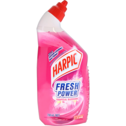 Photo of Harpic Fresh Power Toilet Cleaner Tropical Blossom 700