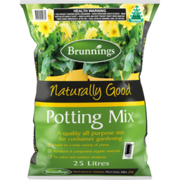 Photo of Brunnings Potting Mix Naturally Good 25l