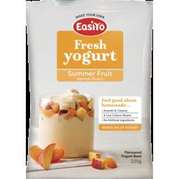 Photo of Easiyo Yogurt Base Summer Fruit Apricot Peach 225g