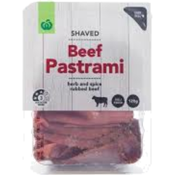 Photo of WW Shaved Beef Pastrami 120g
