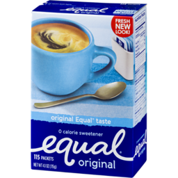 Photo of Equal Original 0 Calorie Sweetener Packets - 115 Ct