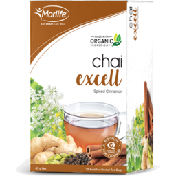 Photo of Morlife - Chai Excell - 25 Tea Bags