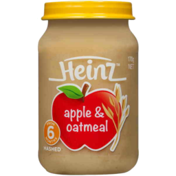 Photo of Heinz Apple Oatmeal 6mths + 170gm