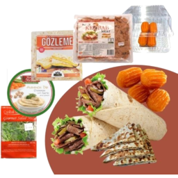 Photo of Lamb Kebab Meal Pack With Three Cheese Gozleme