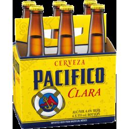 Photo of Cerveza Pacifico Clara 6 X 355ml Bottles