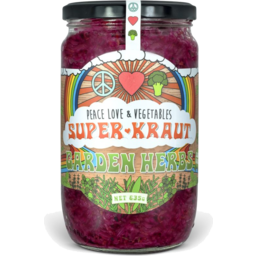 Photo of Peace Love & Veg Garden Herbs Superkraut