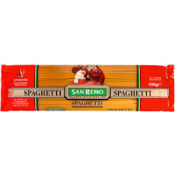 Photo of San Remo Spaghetti 500g