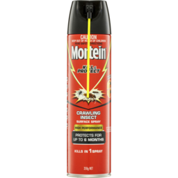 Photo of Mortein Kill & Protect High Performance Surface Spray Crawling Insect 350gm