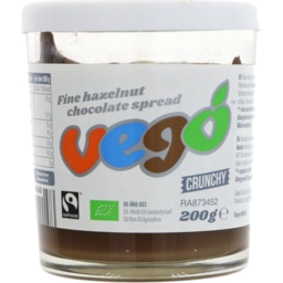 Photo of Vego Hazelnut Spread Cr 200g