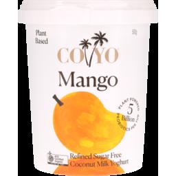 Photo of Coyo Coconut Milk Yoghurt Mango 500g