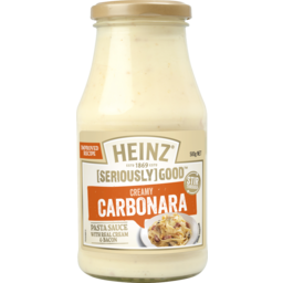 Photo of Heinz Seriously Good Pasta Bake Carbonara 500g