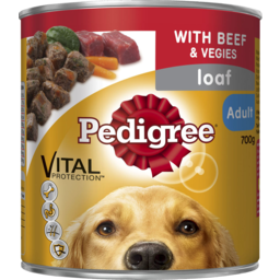 Photo of Pedigree Adult Loaf With Beef & Vegies 700gm