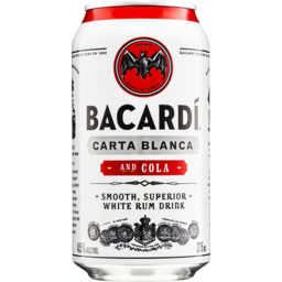 Photo of Bacardi & Cola Can
