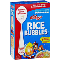 Photo of Kellogg's Rice Bubbles 410gm