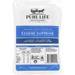 Photo of Pure Life Bakery Sprouted Essene Supreme Loaf (Unsliced)