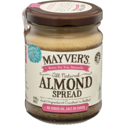 Photo of Mayver's Almond Spread 240gm