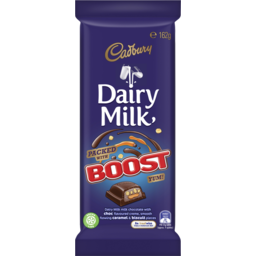 Photo of Cadbury Dairy Milk Boost Milk Chocolate Block 162g