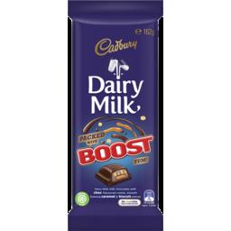 Photo of Cadbury Dairy Milk Boost Milk Chocolate Block 162g