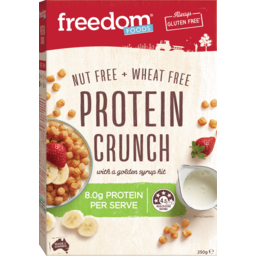 Photo of Freedom Foods Nut Free And Wheat Free With A Golden Syrup Hit Protein Crunch 250g
