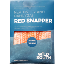 Photo of Wild South Seafood Fish - Red Snapper (Nannygai)
